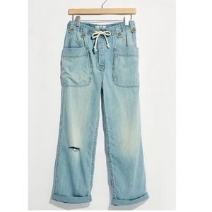 NWT We The Free Rockwell Slouchy Jeans, Small